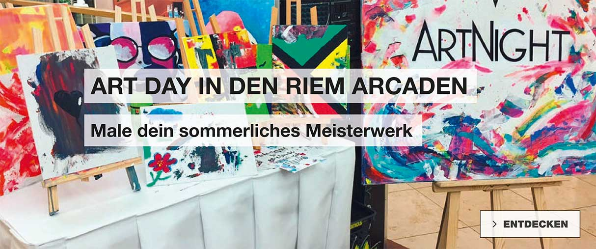 MyArtDay in den Riem Arcaden
